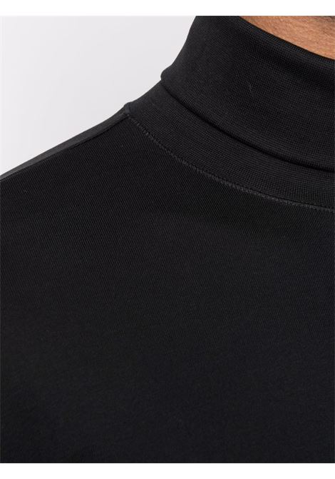t-shirt con collo alto uomo nera in cotone LEMAIRE | T-shirt | M 213 JE300 LJ060999
