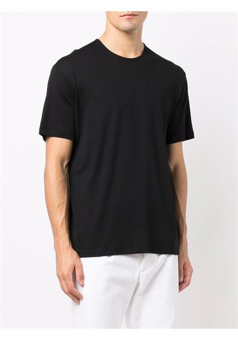 t-shirt in cotone uomo nera LEMAIRE | T-shirt | M 213 JE305 LJ060999