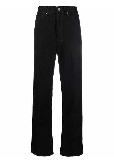 striaght jeans man black in cotton LEMAIRE | Jeans | M 213 PA182 LD069999