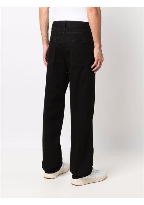 striaght jeans man black in cotton LEMAIRE   Jeans   M 213 PA182 LD069999
