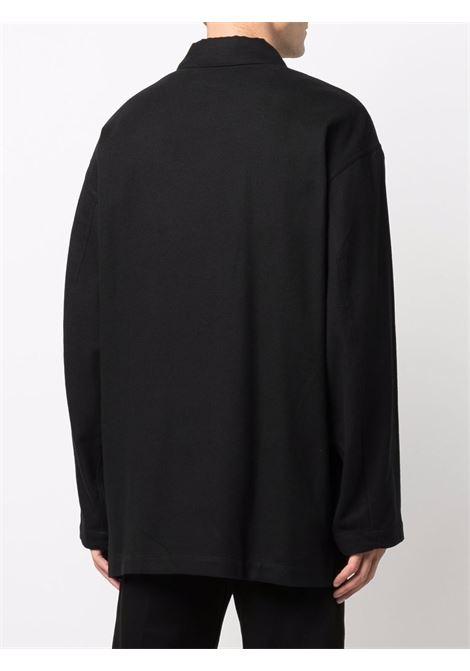 pyjama shirt man black in cotton LEMAIRE | Shirts | M 213 SH173 LF659999