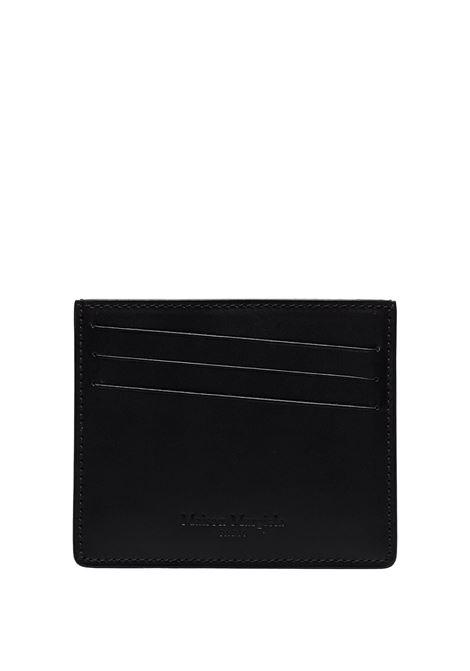 portacarte uomo nero in pelle MAISON MARGIELA | Portafogli | S35UI0432 PS935T8013