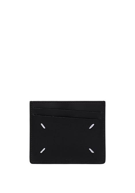 portacarte uomo nero in pelle MAISON MARGIELA   Portafogli   S35UI0432 PS935T8013