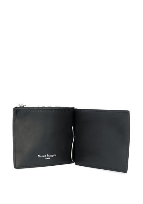 wallet with money clip man black leather MAISON MARGIELA | Wallets | S35UI0447 P0399T8013