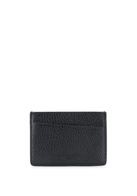 leather card holder man black MAISON MARGIELA | Wallets | S35UI0449 P2686H1669