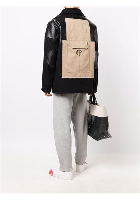 giacca in lana uomo nera MAISON MARGIELA | Giacche | S50AM0520 S44024900