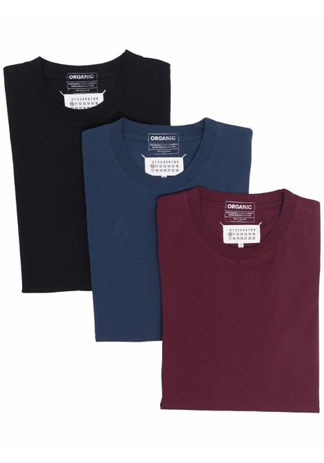 t-shirt tripack man multicolor n cotton MAISON MARGIELA | T-shirts | S50GC0652 S23973962