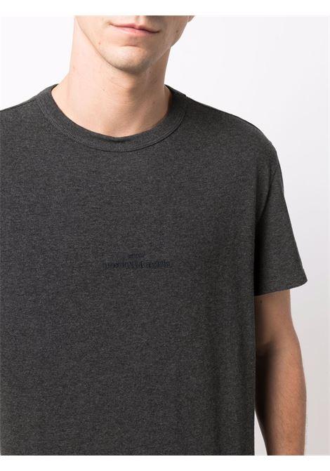 t-shirt con logo uomo grigia in cotone MAISON MARGIELA | T-shirt | S50GC0659 S23984855M