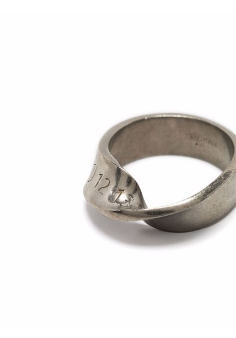 ring with numbers man silver MAISON MARGIELA | Jewellery | SM1UQ0057 S12975951