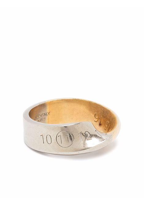anello con numeri uomo argento MAISON MARGIELA | Gioielli | SM1UQ0057 S12975961