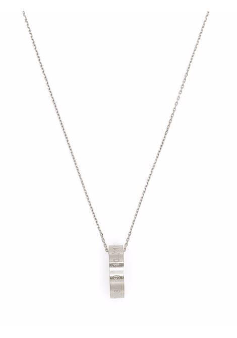 collana con anello uomo argento MAISON MARGIELA | Gioielli | SM1UU0016 S12967951