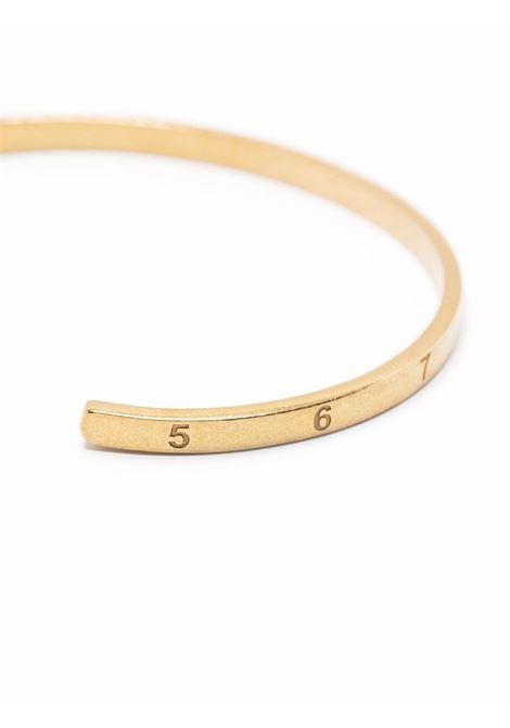 rigid bracelet unisex gold MAISON MARGIELA | Jewellery | SM1UY0037 S12967950