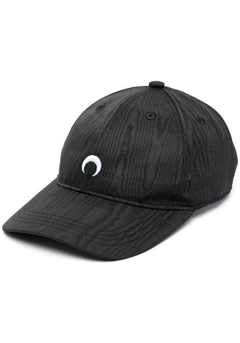 cappello con logo unisex nero MARINE SERRE | Cappelli | A008ICONX00
