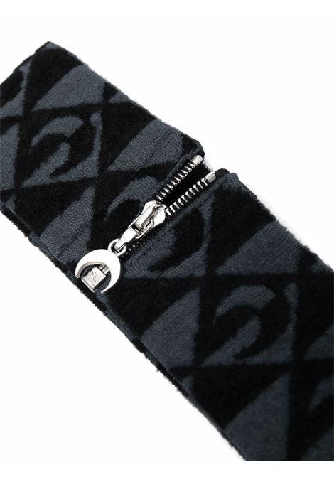 choker con lolgo grigio e nero MARINE SERRE | Mixed | A127FW21X00