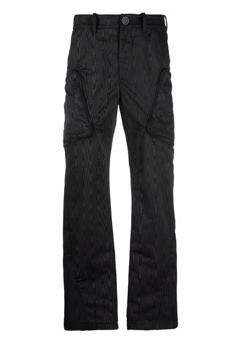 pantaloni con tasche uomo neri MARINE SERRE | Pantaloni | P096FW21M00