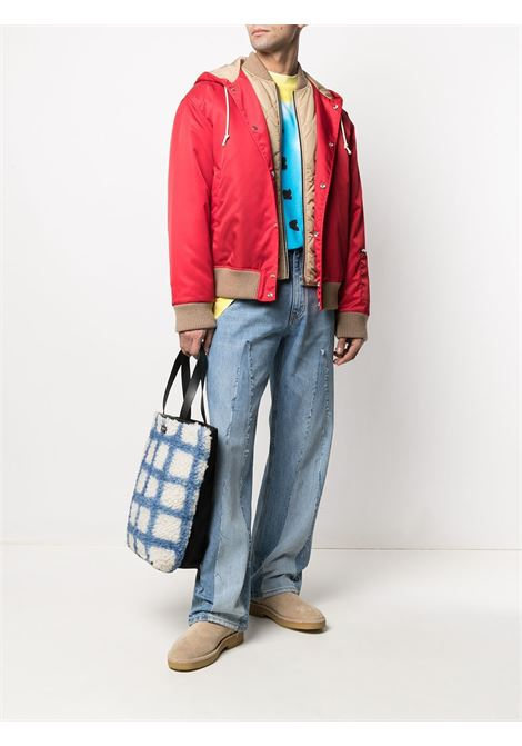 straight jeans man denim in cotton MARNI | Trousers | PUJU0046A5 UTC04700B50