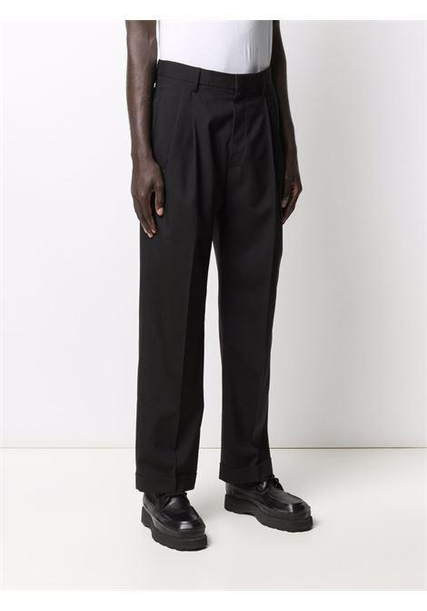 pantaloni dritti uomo neri in lana MARNI   Pantaloni   PUMU0091A0 TW83900N99