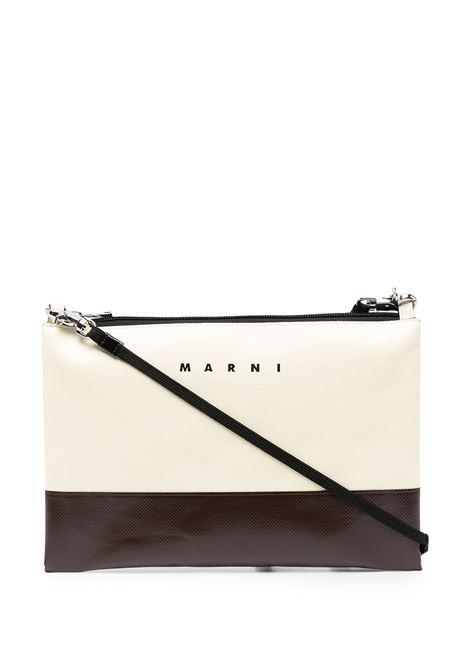 bicolor clutch unisex in leather MARNI | Bags | SBMQ0044A0 P3572Z0Y06