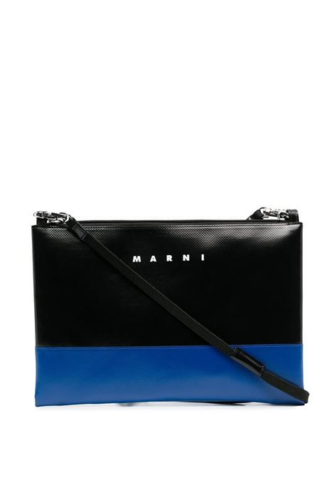 bicolor clutch unisex in leather MARNI | Bags | SBMQ0044A0 P3572Z2O28