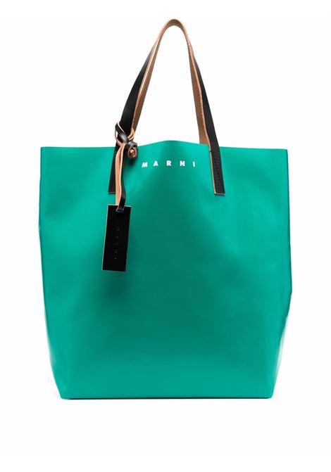 bicolor tote bag unisex in polyester MARNI | Bags | SHMQ0000A3 P3572Z2O63
