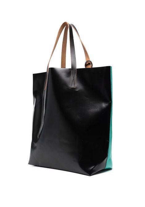 bicolor tote bag unisex in polyester MARNI   Bags   SHMQ0000A3 P3572Z2O63