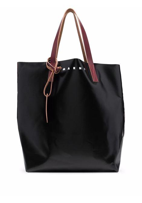 tote bag unisex black in polyester MARNI | Bags | SHMQ0000A3 P3572Z3O03