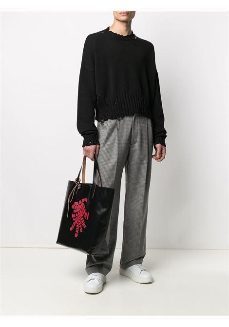 printed tote bag unisex black in polyester MARNI | Bags | SHMQ0000A7 P0625Z2020