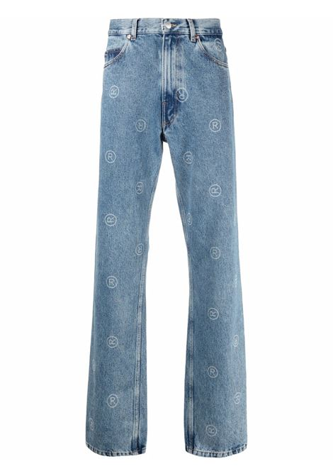 jeans with print man denim in cotton MARTINE ROSE   Jeans   M229DUMR063
