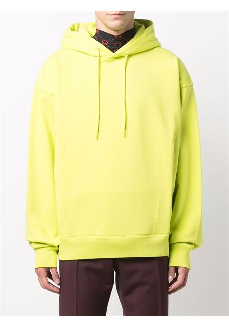 hoodie man yellow in cotton MARTINE ROSE | Sweatshirts | M602FCMR055