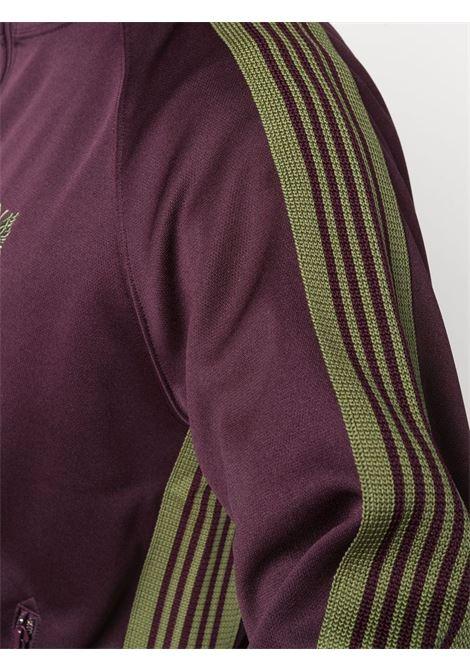 giacca leggera uomo bordeaux in rayon NEEDLES | Giacche | JO221MAROON B
