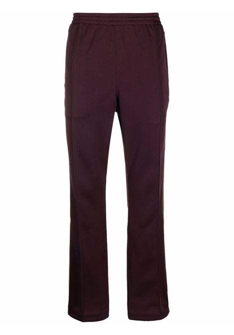 joggers man burgundy  NEEDLES | Trousers | JO223MAROON B