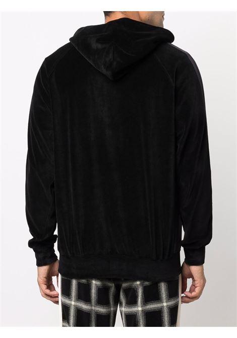 track hoodie man black in cotton NEEDLES | Sweatshirts | JO228BLACK C