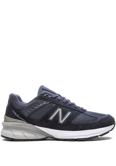 sneakers 990 uomo blu in pelle NEW BALANCE | Sneakers | NBM990NV5