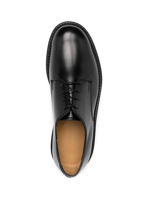 unifrom parade lace up man black in leather OUR LEGACY | Laced Shoes | M1937UPBLBLACK
