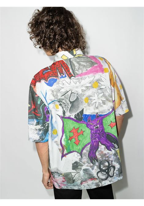 shirt with print man multicolor in cotton OUR LEGACY | Shirts | M4212BSSKELETRON
