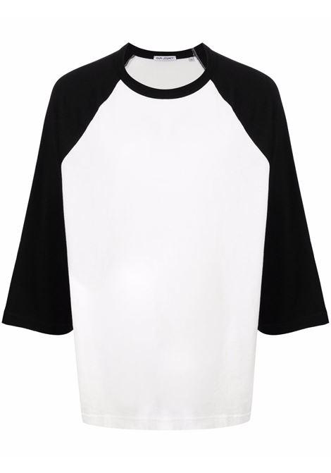 raglan t-shirt man black and white in cotton OUR LEGACY | T-shirts | M4216RBWBLACK/WHITE