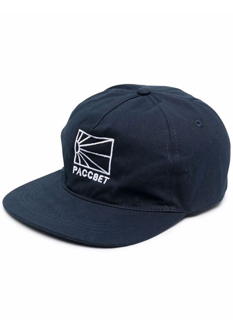 logo hat unisex navy in cotton RASSVET | Hats | PACC9K0061