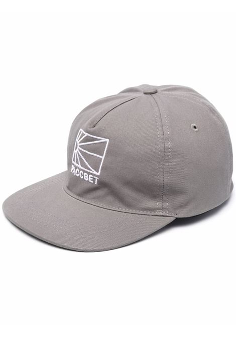 logo hat man gray in cotton RASSVET | Hats | PACC9K0062