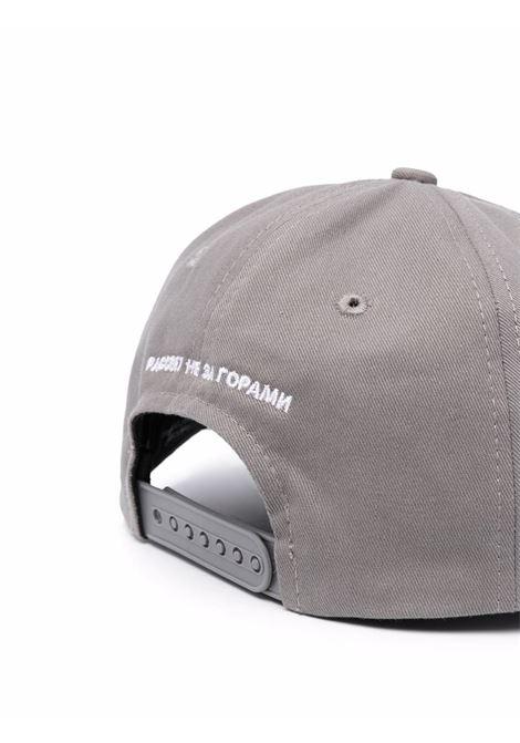 logo hat man gray in cotton RASSVET   Hats   PACC9K0062