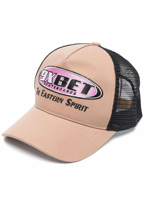 logo hat man beige in cotton RASSVET | Hats | PACC9K0082