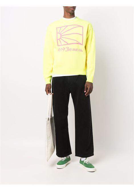 maglione a girocollo uomo giallo RASSVET | Maglieria | PACC9N0023