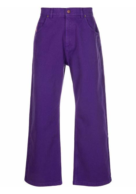jeans woven uomo viola in cotone RASSVET | Jeans | PACC9P0012