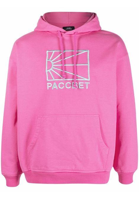 logo hoodie man pink in cotton RASSVET | Sweatshirts | PACC9T0253