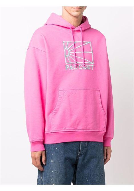 felpa con logo uomo rosa in cotone RASSVET | Felpe | PACC9T0253
