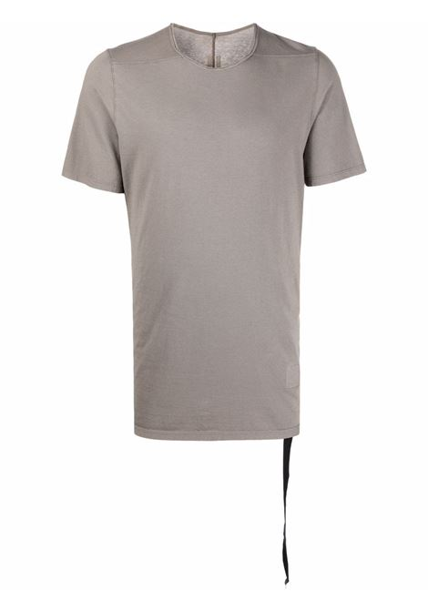 t-shirt level t uomo grigia in cotone bio RICK OWENS DRKSHDW | T-shirt | DU02A3250 RN34