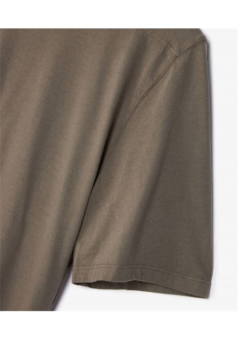 level t t-shirt man gray in organic cotton RICK OWENS DRKSHDW   T-shirts   DU02A3250 RN34