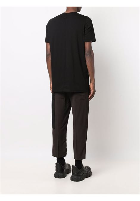 level t-shirt man black in cotton RICK OWENS DRKSHDW | T-shirts | DU02A3250 RNEP60961