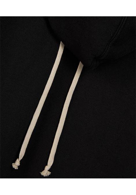 felpa granbury uomo nera in cotone RICK OWENS DRKSHDW   Felpe   DU02A3289 F09
