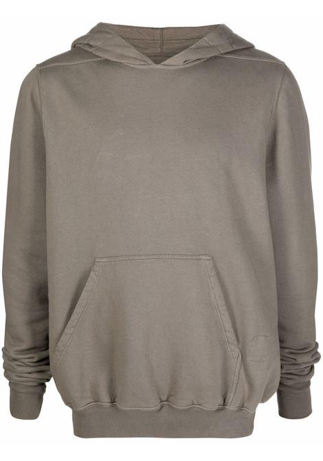 granbury hoodie man dove gray in cotton RICK OWENS DRKSHDW | Sweatshirts | DU02A3289 F34