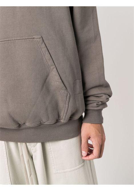 felpa granbury uomo tortora in cotone RICK OWENS DRKSHDW | Felpe | DU02A3289 F34